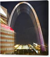 St Ouis Arch Special Zoom Effect Canvas Print