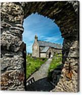 St Patrick Arch Canvas Print