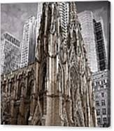 St. Patricks Cathedral  Canvas Print