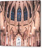 St Patricks Cathedral New York Usa Canvas Print