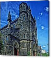 St Patrick's Church Canvas Print