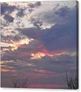 St Patty's Sunset Canvas Print