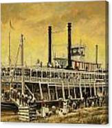 St. Paul Steamboat Canvas Print