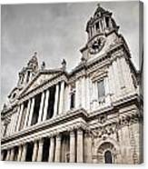 St Pauls Cathedral In London Uk Canvas Print