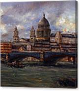 St. Paul's  Cathedral  - London Canvas Print