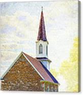 St Paul's Lutheran Church Canvas Print