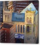St Pauls Nyc Canvas Print