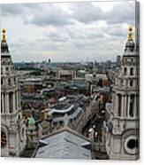 St Paul's View Canvas Print