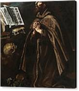 St Peter Of Alcantara Canvas Print