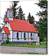 St Peters Anglican Church Canvas Print