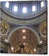St. Peters Basilica Vatican City Rome Italy Canvas Print