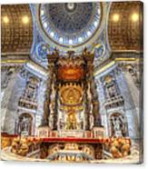 St Peter's Basilica Canvas Print