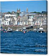 St Peters Port Guernsey  Canvas Print