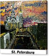 St  Petersburg Canvas Print