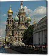 St Petersburg Russia Canvas Print