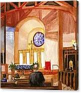 St. Raphaels - Early Morning Prayers Canvas Print