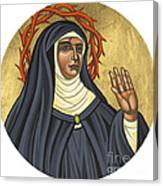 St. Rita Of Cascia Patroness Of The Impossible 206 Canvas Print