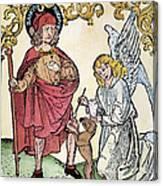 St. Roch (c1350-c1379) Canvas Print