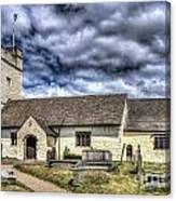 St Sannans Church Bedwellty 3 Canvas Print