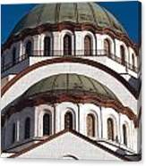 St Sava Temple Canvas Print