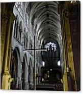 St. Severin Church In Paris France Canvas Print