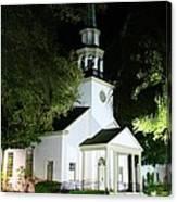 St Simons Island Presbyterian Church Canvas Print