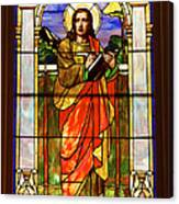 St. Stan's Stained Glass Canvas Print