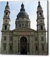 St Stephens Basilica Budapest Canvas Print