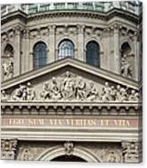 St. Stephen's Basilica Closeup Canvas Print