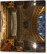 St. Stephens Ceiling 2 Canvas Print
