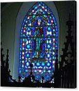 St Thomas Stained Glass Canvas Print