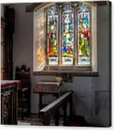 St Tysilio Window  Canvas Print