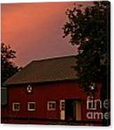 Stable Barn Canvas Print