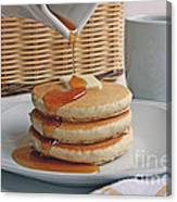 Stack Of Pancakes Canvas Print