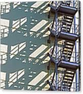 Stack Of Stairs Canvas Print