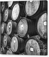 Stacked Barrels Canvas Print