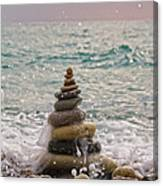 Stacking Stones Canvas Print