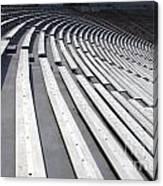 Stadium Bleachers Canvas Print