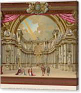 Stage-set Designs For  Productions Canvas Print
