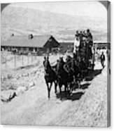 Stagecoach, C Canvas Print
