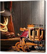 Stagecoach Dream Canvas Print