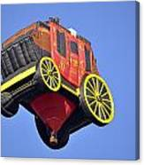 Stagecoach In The Sky Canvas Print