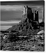 Stagecoach Rock Monument Valley Canvas Print