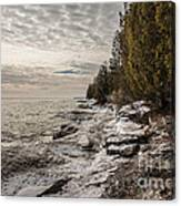 Staggering Shores Canvas Print