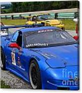 Staging Line At Road America Canvas Print