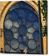Stain Glass Church Window Canvas Print