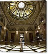 Stain Glass Rotunda Canvas Print