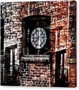 Stained Brick Canvas Print