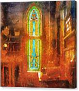 Stained Glass 05 Photo Art Canvas Print