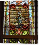 Stained Glass 3 Panel Vertical Composite 02 Canvas Print
